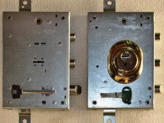 conversione da serratura europea a doppia mappa verona